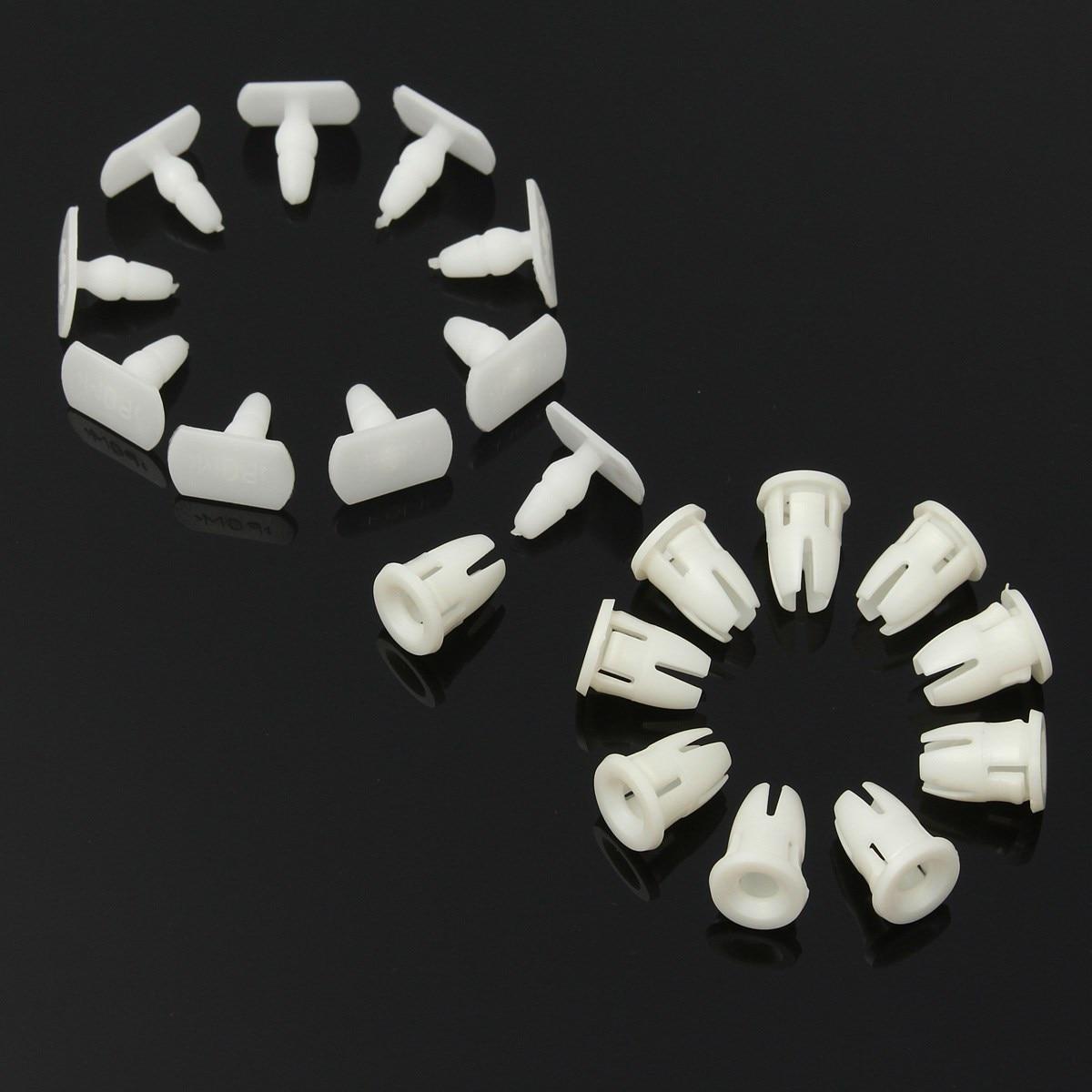 10 x Side Skirt Door Sill Card Panel Linning Repair Trim Clips For Mercedes/Benz
