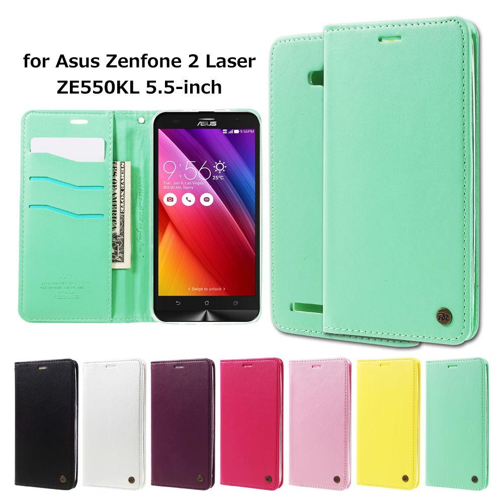 ROAR KOREA coque for Asus Zenfone 2 Laser ZE550KL Cases Only One Flip Leather Wallet Cover