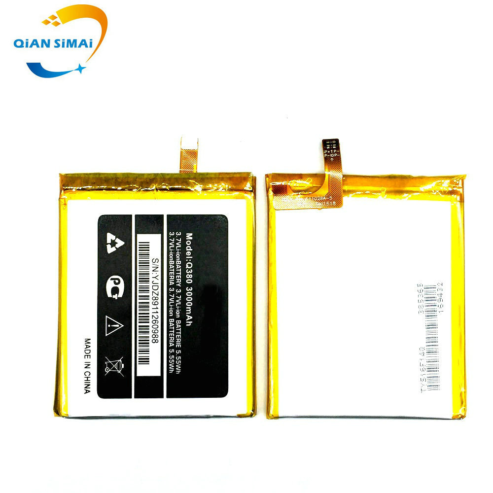 QiAN SiMAi 3000mAh Micromax q380 New original High Quality Battery for Micromax q380 A107 mobile phone in stock+ Free shipping