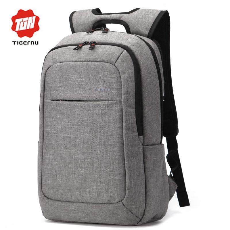 Prix pour 2017 sacs à dos anti-voleur de tigernu hommes mochila pour ordinateur portable 14-15 pouce ordinateur portable sacs hommes sac à dos école sac à dos