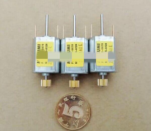 Бесплатная Доставка 10 шт. mitsumi m15n-3 серии 6.0 ~ 28.0 В Micro Двигатель с Шестерни и двойной вал, используемые для сканера или DIY