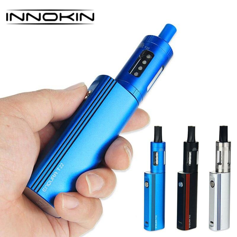 100%Innokin Endura T22 Kit 2000mAh Built-in Battery 4ml Prism Tank 1.5ohm Innokin Prism Replacement Coil Vape Kit VS Cuboid Mini