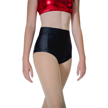 цена Womens Pole Dancing Shorts Black Nylon Lycra Hot pants Yoga Roller Derby Beach Dancewear онлайн в 2017 году