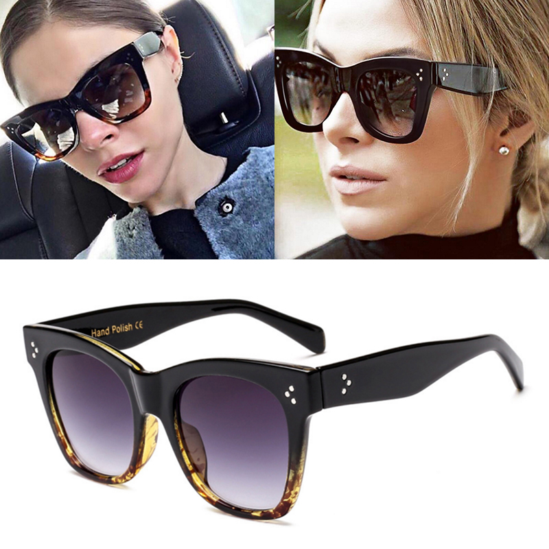 JackJad 2017 New Fashion Women 41090 Catherine Style Cat Eye Solbriller Vintage Brand Design Gradient Sun Briller Oculos De Sol