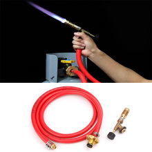 High Quality Gas Self Ignition Turbo Torch With Hose Solder Propane Welding For Plumbing Air Conditioning