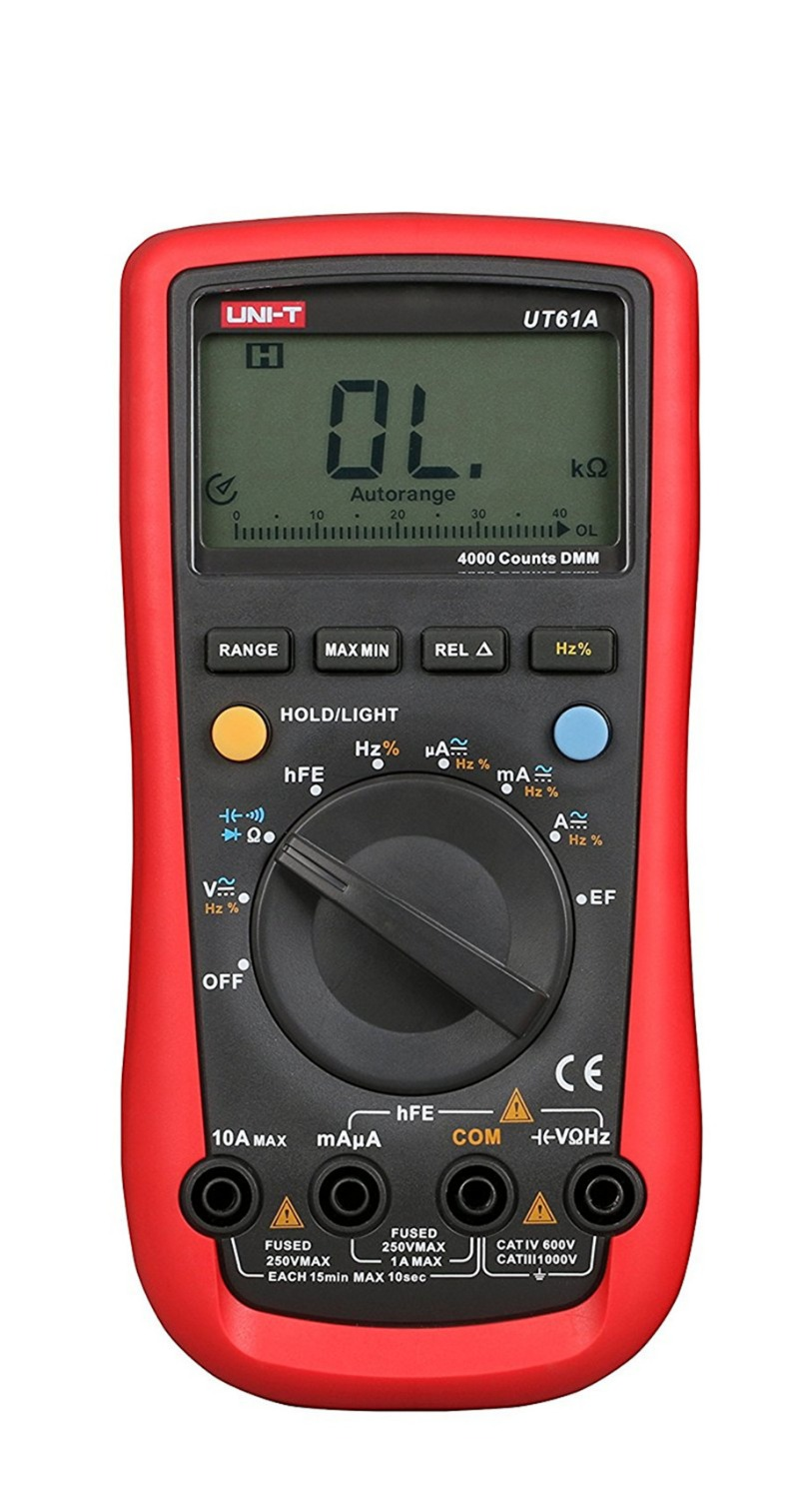 UNI-T UT61A Modern Digital Multimeters RMS RS232 REL AC DC Amperemeter 22000 Count Auto Range Test Meter цена