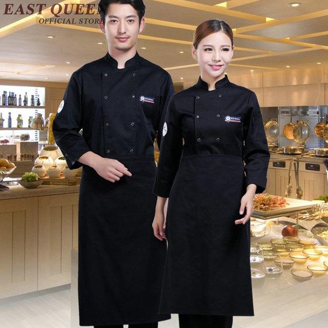 Jaket Kemeja Hotel Restaurant Seragam Chef Dapur Koki Pakaian Pria Laki