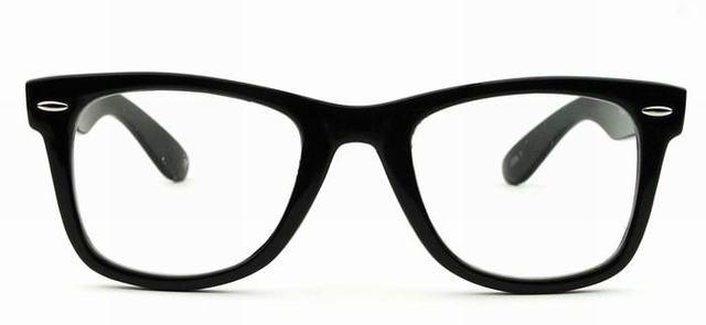 Online Shop Vintage CE plastic eyeglasses frame clear lens ...