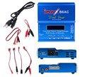 80 W IMAX B6 AC B6AC Equilíbrio RC Carregador de Bateria Lipo Nimh Nicd Bateria de lítio + UE/EUA/REINO UNIDO/AU plug fio de alimentação cabo de frete grátis