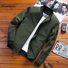 DIMUSI Spring Mens Bomber Jackets Male Casual Zipper Streetwear Hip Hop Coats Men Outwear Thin Slim Clothing Plus Size 4XL,TA337