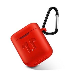 Image 5 - Siliconen Case voor Xiaomi Airdots Pro Shockproof Oortelefoon Beschermende Cover Pouch voor Xiaomi Air TWS Headset Accessoires met Haak