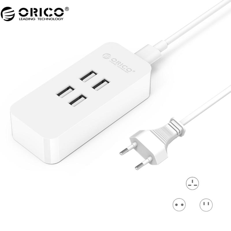 ORICO DCV EU Plug 20W 4 Port USB Chargers