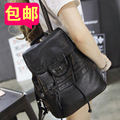 2017 женщин мягкой кожи рюкзак Корейской моды прилив мыть кожаная сумка отдыха и путешествий рюкзаки девушки