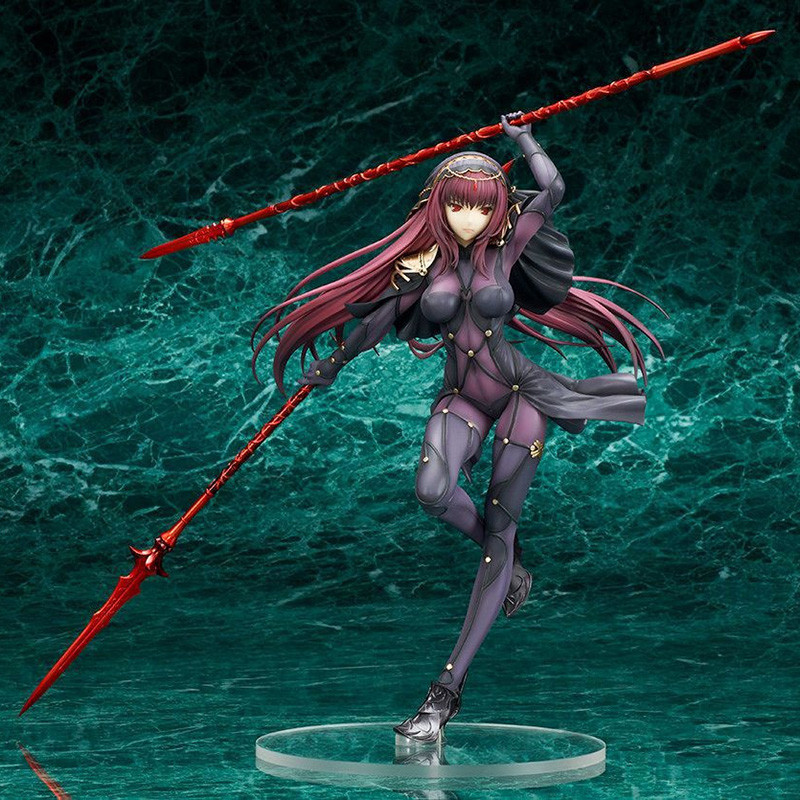 Anime Fate/Stay Night Figures Fate Grand Order Lancer Scathach PVC action figure collection model toys for gift new fate grand order saber altria pendragon alter dress ver pvc action figure collection toys valentine s day gift for friends