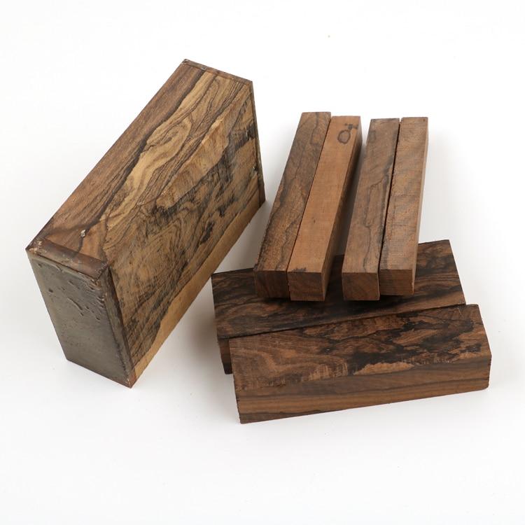 Ziricote Knife Handle Blanks Woodworking Blanks DIY Wood Pistol Grip Knife Handle's Material