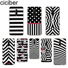 ciciber Stripe pattern Phone Cases For Oneplus 7 Pro 1+7 Pro Soft TPU Back Cover for Xiaomi 9 Coque For Redmi Note 7 6 Pro Funda