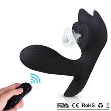 Clit Sucker Sex Vibrator For Women Blowjob Tongue Strap on Dildo Vibrators Invisible Vibrating Panties Clitoris stimulator