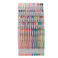 Children ABC Smart Color Art 60Pcs Gel Pens Set Colors Included Classic Glitter Neon Standard Milky