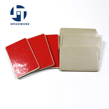 Tarjeta de cerámica RFID de largo alcance ISO18000 6C tarjeta Windsheild para gestión de estacionamiento
