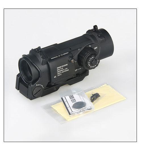 WIPSON envío libre táctico 1x-4x doble función óptica vista rifle - Caza - foto 6