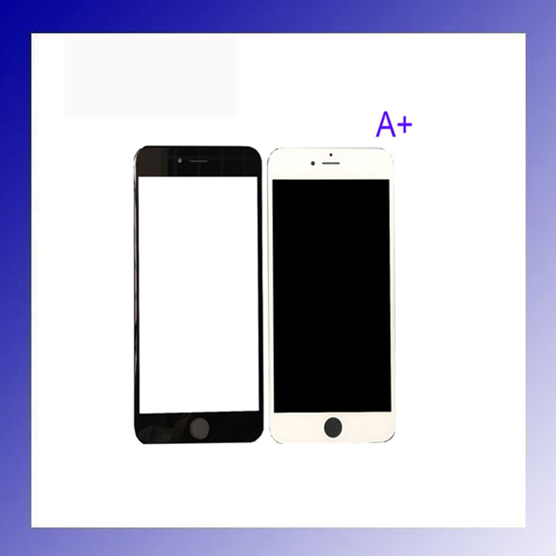 Фото 20pcs High Quality A+ Front Glass Outer Lens Black And White for iphone 5s 6s 7 plus