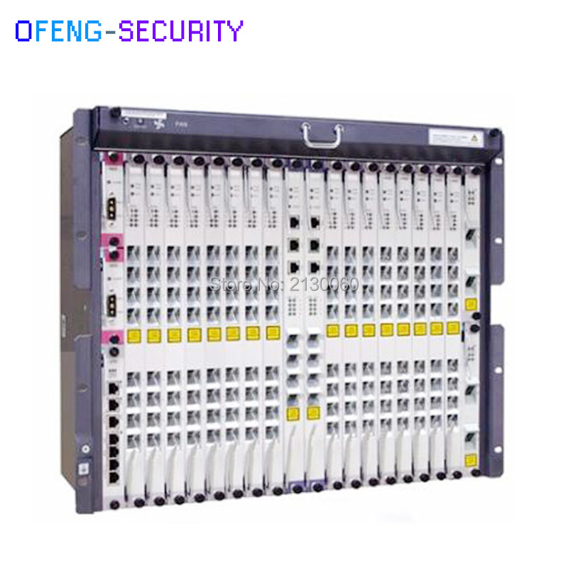 Fibra Olt Original Huawei MA5680T GPON OLT Fiber Optic Equipment 19 Inch With 2 SCUN 2 X2CS 2 PRTE