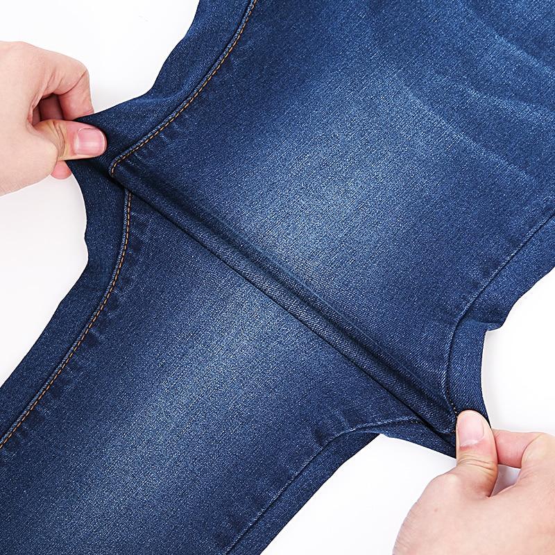 Jeans pour Femmes jean noir Taille Haute Jeans Femme Haute Élastique grande taille Jeans stretch femme lavé denim maigre pantalon moulant 5