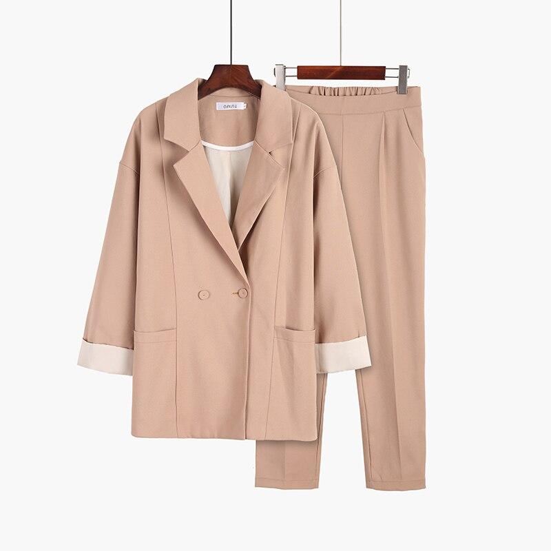 ใหม่ผู้หญิงชุดแฟชั่น Slim ธุรกิจสำนักงาน OL ชุดอย่างเป็นทางการ Blazer + กางเกงสูท Feminino หญิงชุด-ใน ชุดสูทกางเกง จาก เสื้อผ้าสตรี บน AliExpress - 11.11_สิบเอ็ด สิบเอ็ดวันคนโสด 1