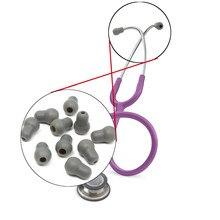 10 шт. Супер Удобный и мягкий стетоскоп ушные вкладыши наушники для литтманна стетоскоп