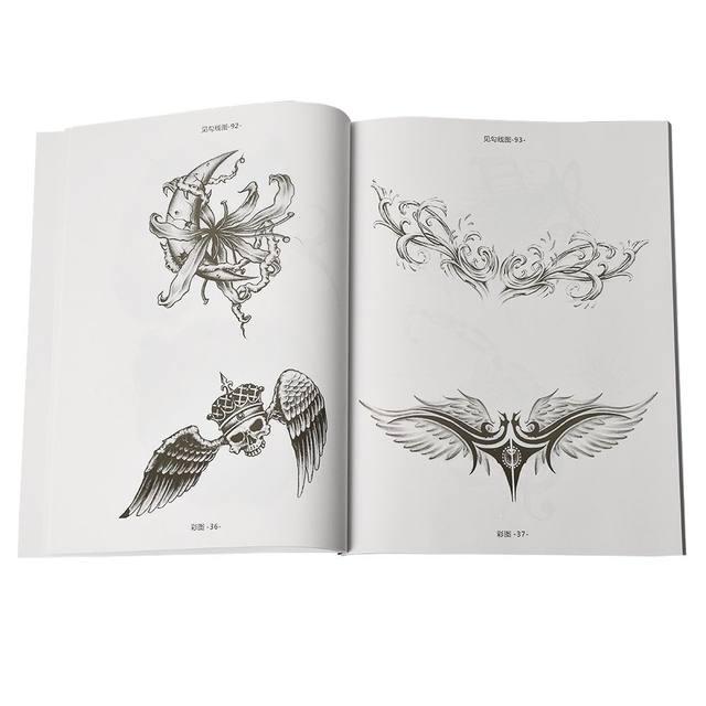 Tienda Online Diseños de Tatuajes libro para colorear seleccionado ...