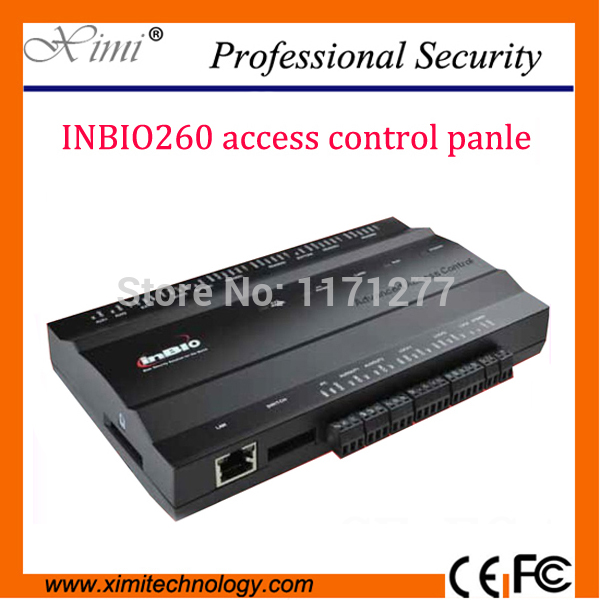 Two sides fingerprint access controller access control panel ZK inbio260 fingerprint control panel