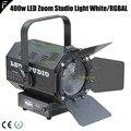 400 w RGBAL 5in1/Weiß COB LED Zoom Studio Theater Licht 16 ~ 65 Grad Licht Strahl Winkel TV film licht für Podium Tagungsraum-in Bühnen-Lichteffekt aus Licht & Beleuchtung bei