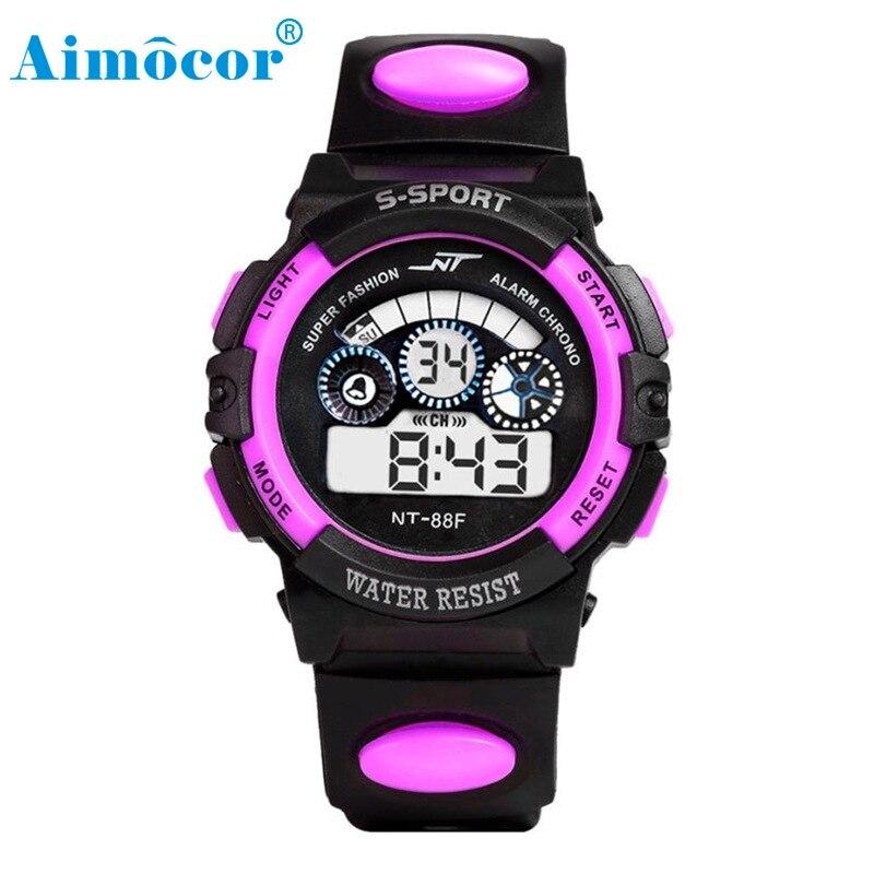 2017 Newly Designed HOT Waterproof Mens Boy's Digital LED Quartz Alarm Date Sports Wrist Watch 327