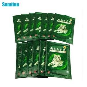 Sumifun 16 قطعة فيتنام النمر الابيض بلسم الألم التصحيح العضلات الكتف الرقبة التهاب المفاصل لاصق طبي بالأعشاب الصينية C068