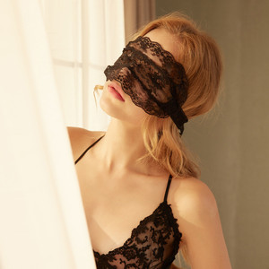 Image 1 - BDSM Sex Eye Mask Bondage Role Play Costumes Accessories Women Erotic Sexy Lace Eye Mask Blindfold Adult Sex Toy BDSM Eye Cover