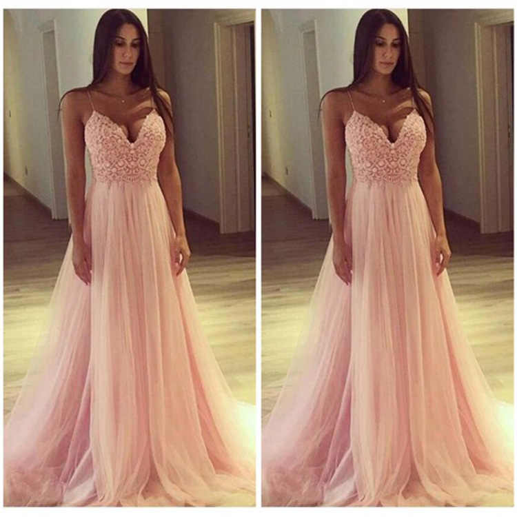 d501bfb8a8b6 ZTVitality Women Dresses Summer 2019 Vestidos Hot Sale Sexy Solid V-Neck  Long Dress Fashion