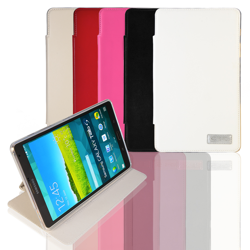 PU Leather Business Smart Cover Case For Samsung Galaxy Tab S T700 T705 Tablet 8.4 Inch With Screen Protector Protective Shell luxury folding flip smart pu leather case book cover for samsung galaxy tab s 8 4 t700 t705 sleep wake function screen film pen