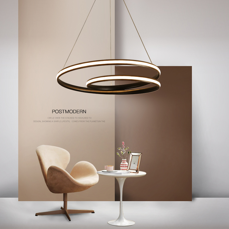 lustre led Modern Led Chandelier For Dining Room Kitchen Bar hanglamp Suspension luminaire chandelier lighting AC85-265V