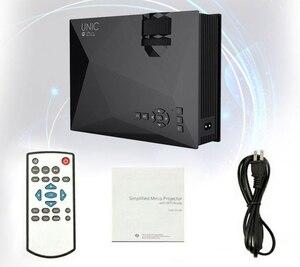 Image 3 - Original UNIC Neue Upgrade UC68 Volle HD1800 lumen led projektor Heimkino Multimedia Unterstützung Miracast Airplay USB HDMI VGA