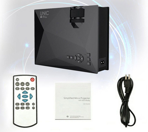 Image 3 - Original UNIC New Upgrade UC68 Full HD1800 lumens led projector Home Theatre Multimedia Support Miracast Airplay USB HDMI VGA