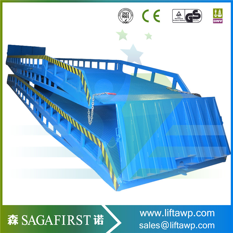 Hydraulic Electric Dock Ramp With ISO And CE Certificate