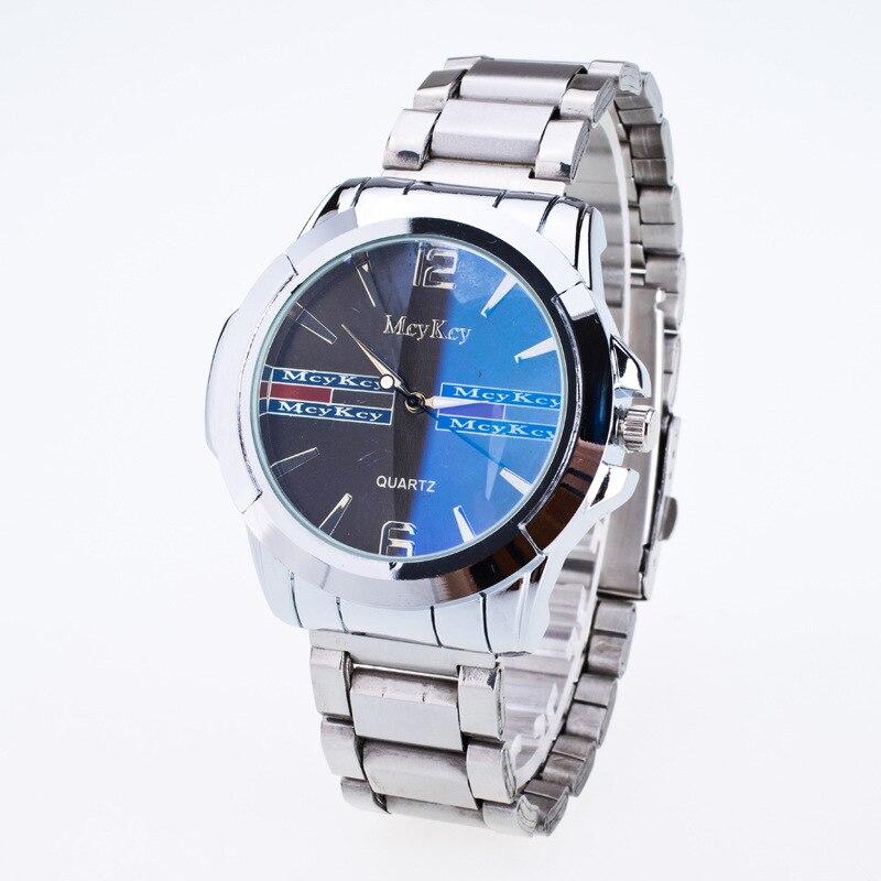 Топ Люксовый Бренд Часы Мужчины Смотреть Полный Стали Кварцевые Часы Водонепроницаемые Бизнес Наручные Часы Relogio Masculino Reloj Hombre