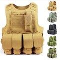 Тактический жилет открытый продукты печать Камуфляж амфибия Высокое качество cs Борьбе С Терроризмом Военный Защитный боевой Подготовки