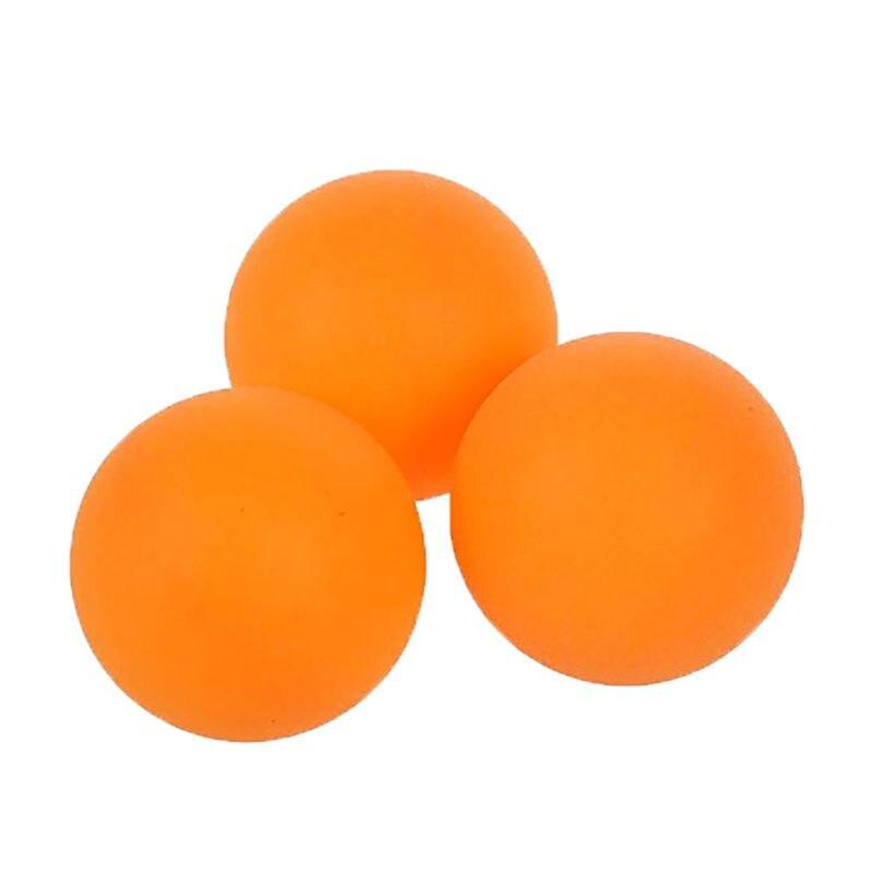60 шт./компл. мячи для настольного тенниса обучение для начинающих шарики для пинг-понга 3 звезды из АБС-пластика бесшовные прочный спортивных аксессуаров
