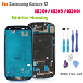 High Quality Middle Frame for Samsung Galaxy S3 i9300 / i9305 / i9300i Front Housing Replacement Screen Bezel Repair Parts
