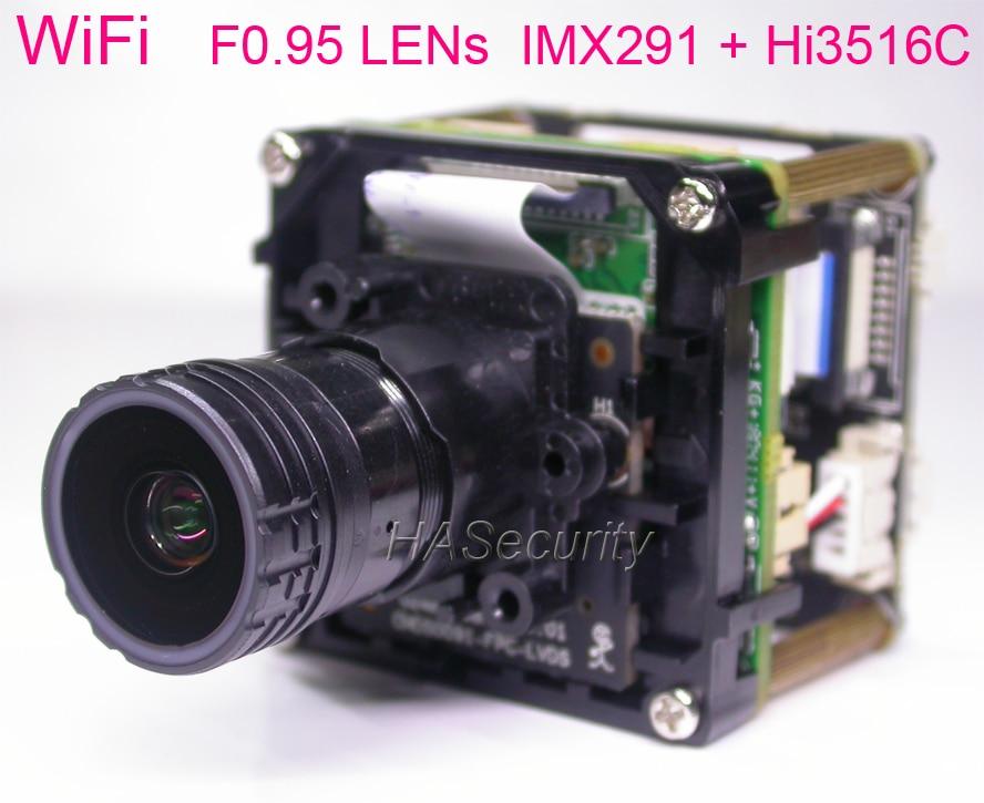 WiFi F0 95 star light LENs H 265 H 264 1 2 9 STARVIS IMX291 CMOS