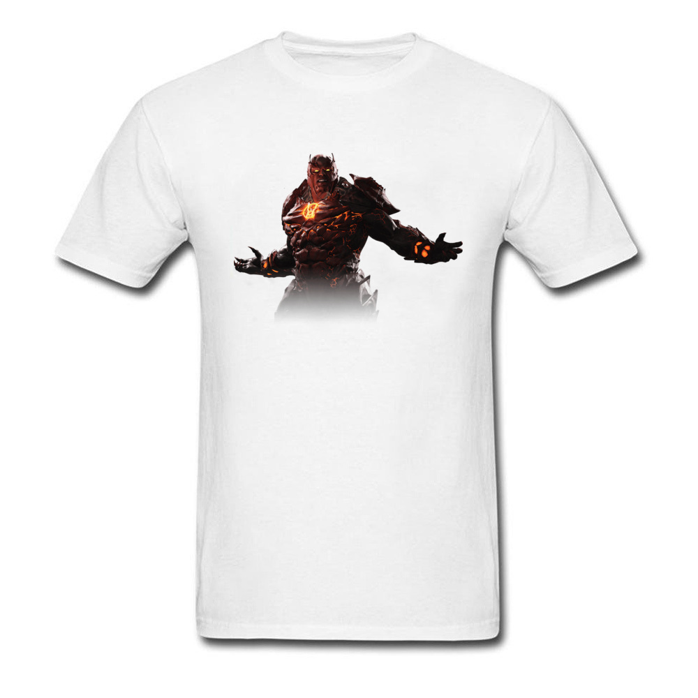 Cool Men T-shirt Short Sleeve Summer Spring Newest 3D Cartoon Monster Warrior Design Male Tops Tees For Fathers Day