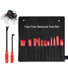 цена на Auto Trim Removal Tool Set Car Auto Radio Audio Repair Kit Door Dash Trim Pry Clip Stereo Panel Installer Repair Pry Tool Kits