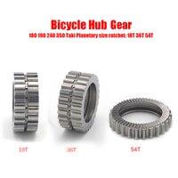 COCKSCOMB Bicycle Gear 18T 36T 54T Kits Suit for DT bike hub X1600 X1700 1501 swiss gear