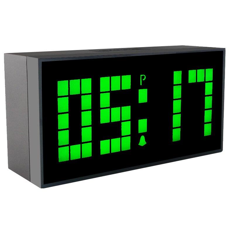 CH KOSDA Digital LED Wall Alarm Clock Horloge Wall Watch Timer